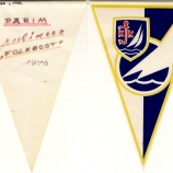 vimpel (ESM Fp 1745:166 L 1982); Eesti Spordimuuseum;