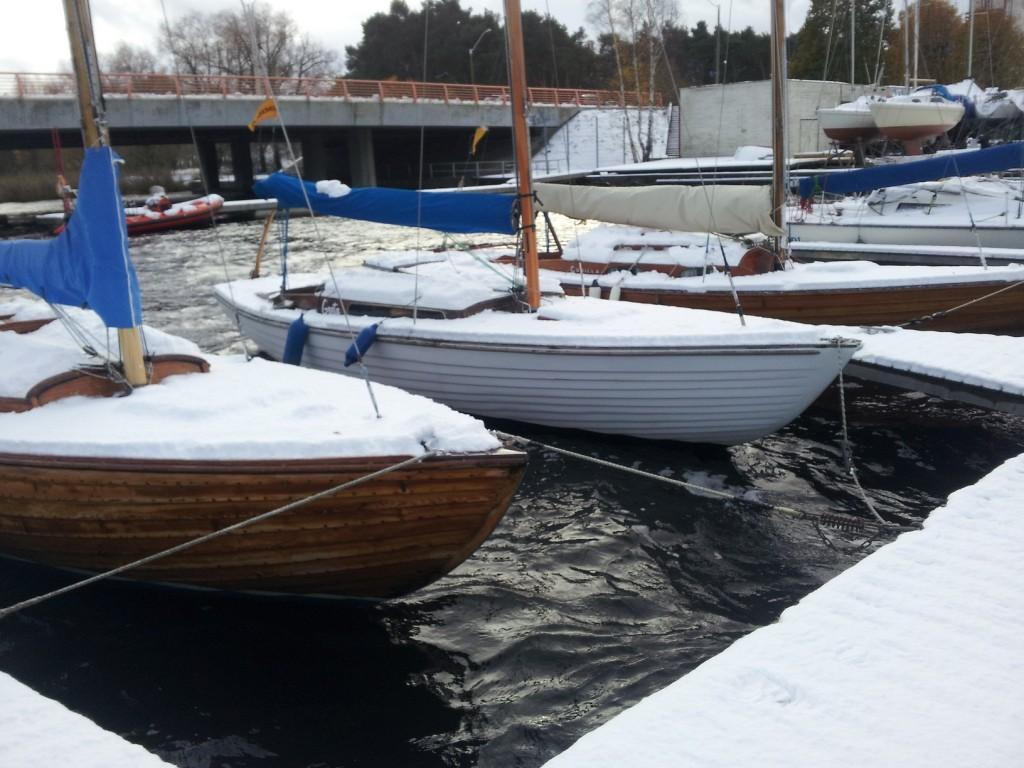 Homne purjetamise hooaja lõpetamine