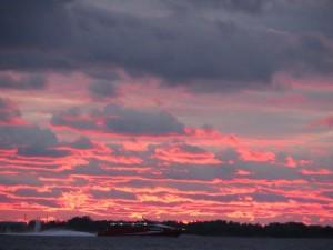sellist taevast võib veel merel näha (foto: Leida Lepik)