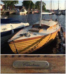 Pärnus ka jälle puust folkboot!